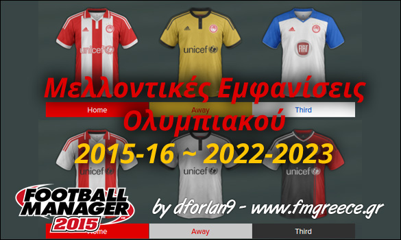 Olympiakos Future Kits