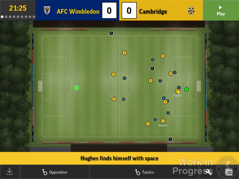 Football Manager Mobile 2D