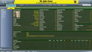 Julio Cesar Football Manager