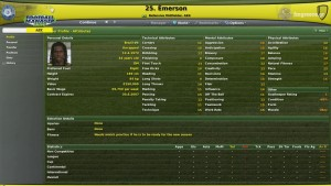 Emerson Football Manager