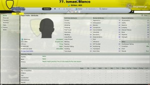 Ismael Blanco Football Manager