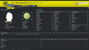 Papa Bouba Diop Football Manager