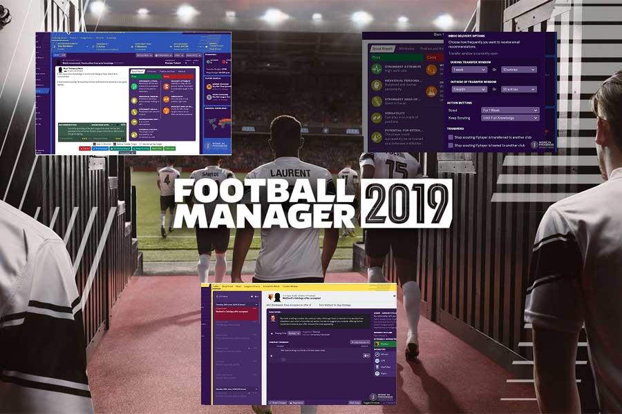 Τακτικές και Football Manager 2019