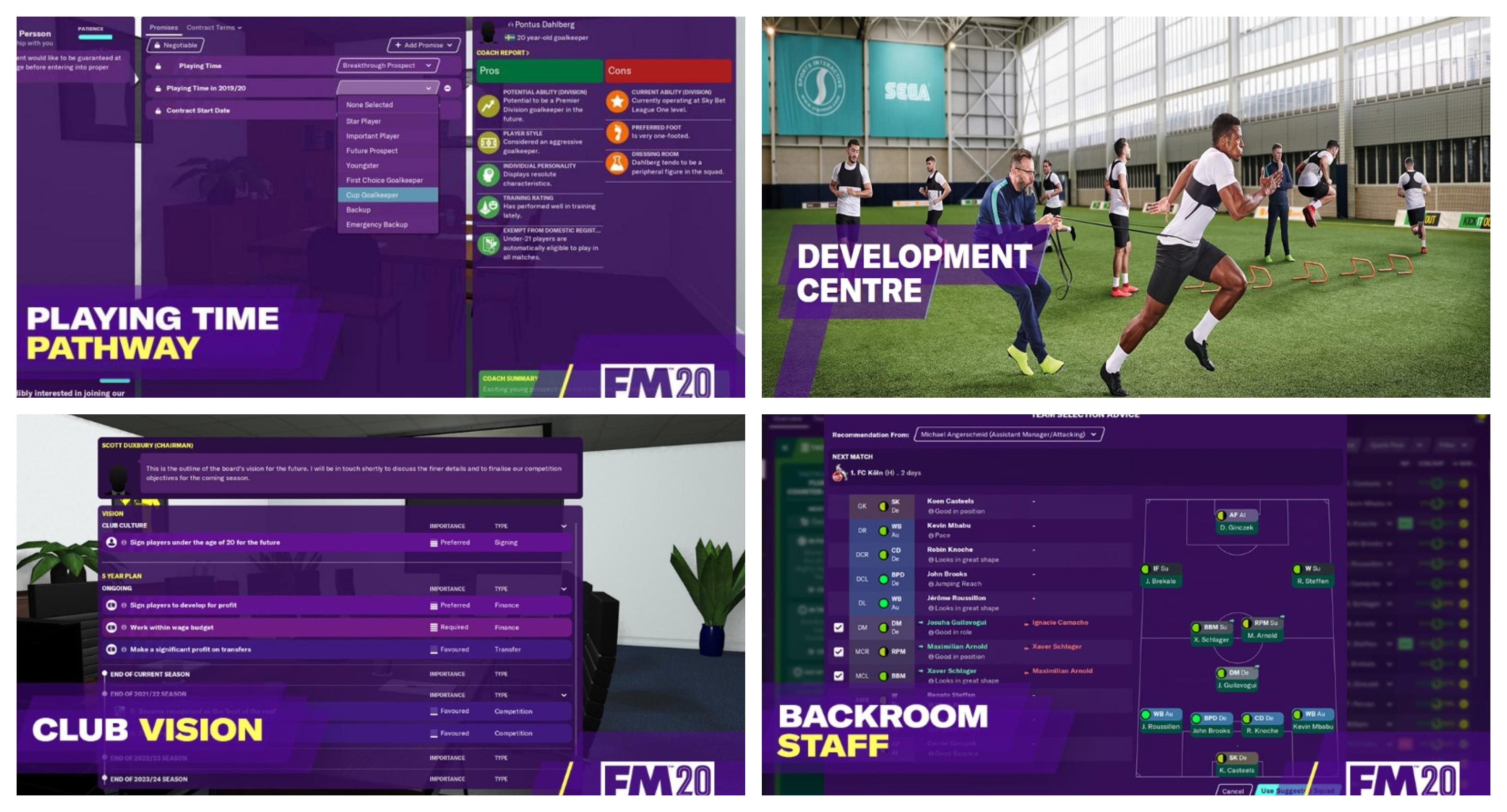 Football Manager 2020: Ανάλυση των αλλαγών του παιχνιδιού