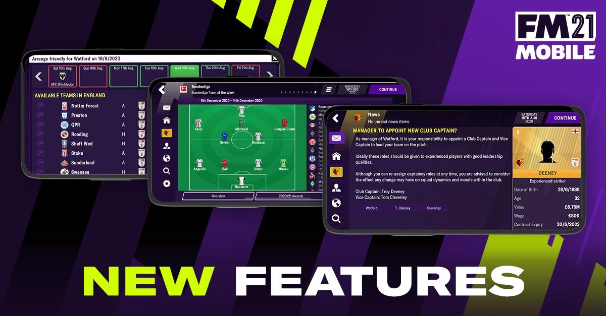 FM21 Mobile: Αυτά είναι τα νέα features! (pics)