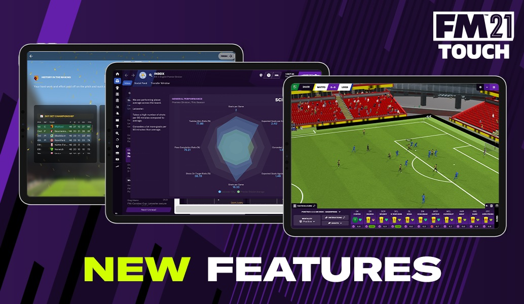 Football Manager Touch 2021: Τα νέα features (pics)