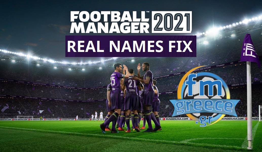 FMGreece Real Names Fix 2021
