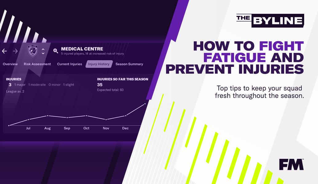 FM21:  Πώς να «νικήσεις» την κούραση και τους τραυματισμούς