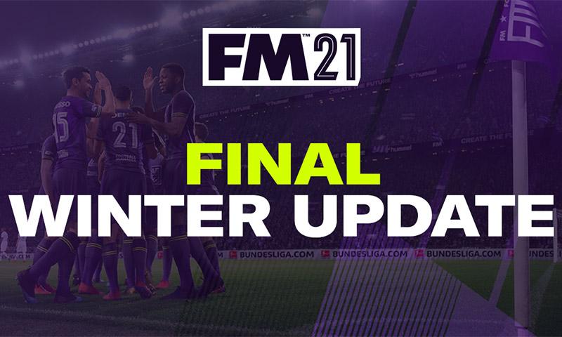 Κυκλοφόρησε το τελικό χειμερινό update του FM2021!