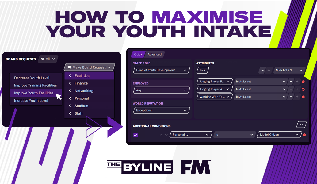 FM21: Πώς να αξιοποιήσεις στο έπακρο τις ακαδημίες της ομάδας σου!
